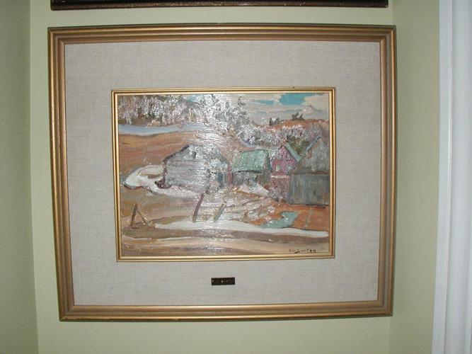 R W Burton Painting