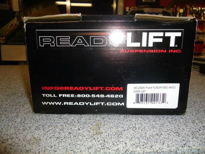 Ready Lift Leveling Kit for 2005-Up F250/F350 4wd Trucks