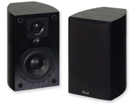 Reel Acoustics RSX Bookshelf Speakers with Through Mount Brackets (Pair)
