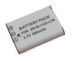 Replacement Battery for Nikon EN-EL11, EN-EL12 and more
