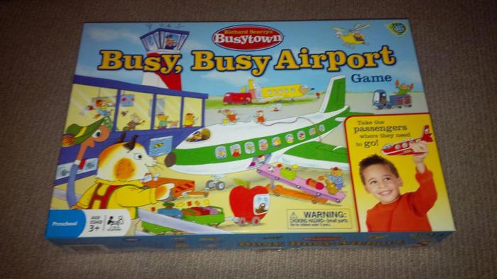 Richard Scarry's Busy Busy Airport Game