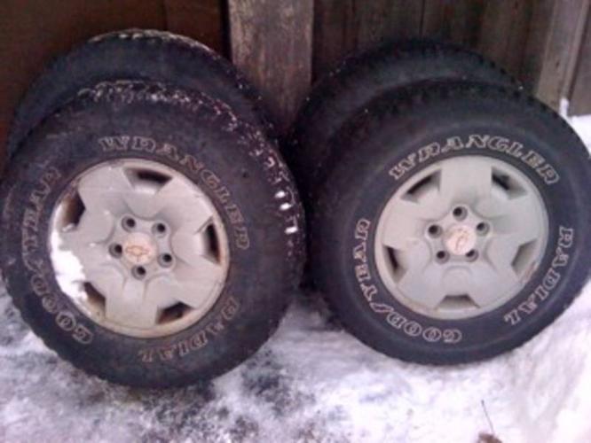 Rim and tire pkg