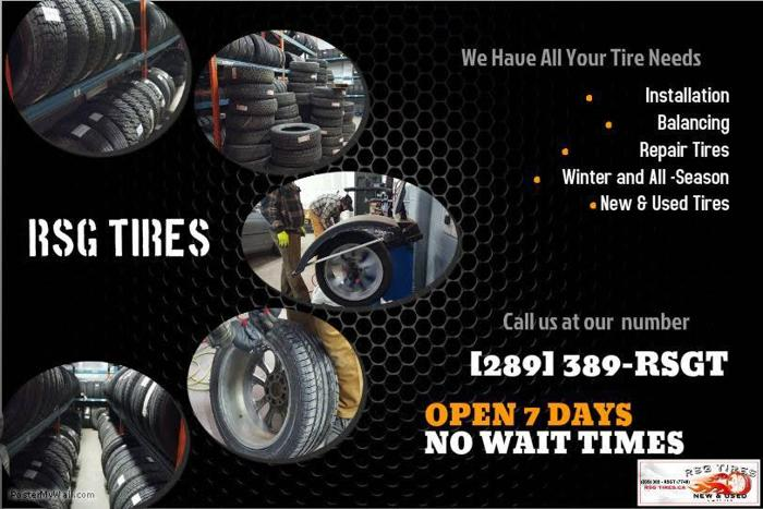RSG Tires - New & Used Tires