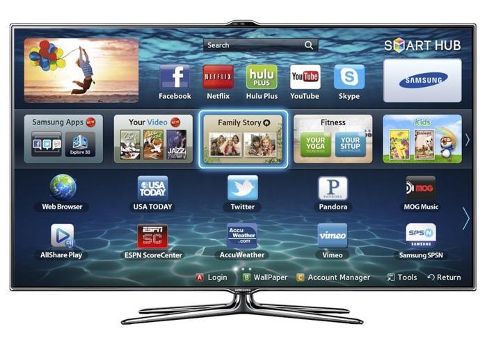 "Samsung 46"" Smart 3D LED TV 1080P 240HZ"