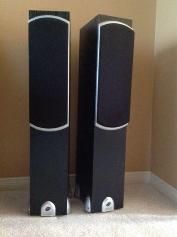 SAMSUNG HOME THEATER WITH PRECISION ACOUSTIC SPEAKERS