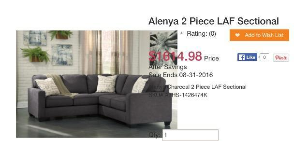 Sectional Couch for sale - great condition, pet-free environment