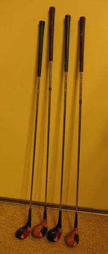 SET OF 4 GOLF CLUBS - DRIVERS