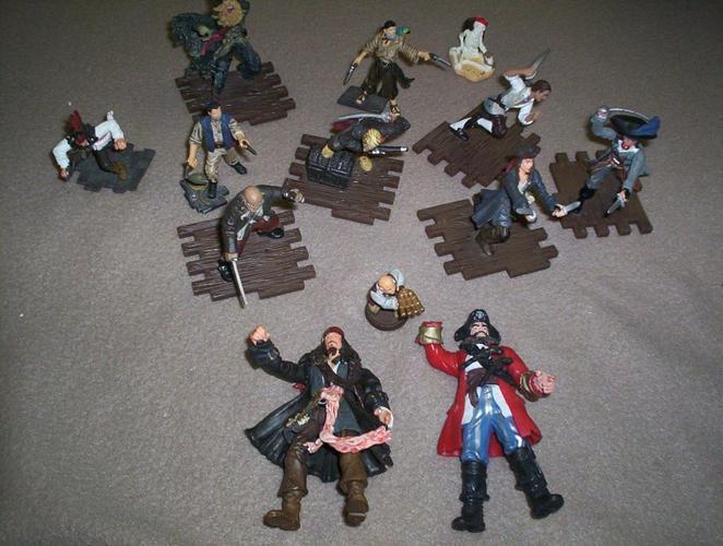 Set of Pirate Men