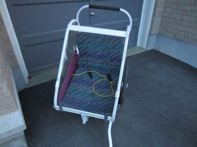Single bike trailer/stroller
