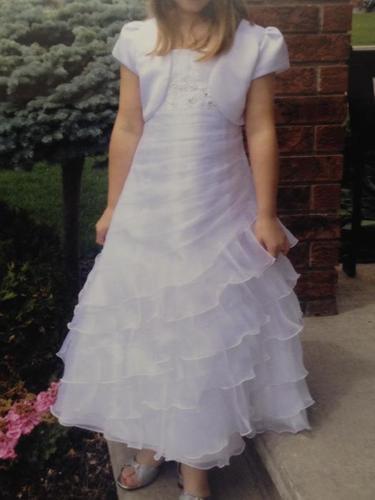 Size 10 First Communion Dress