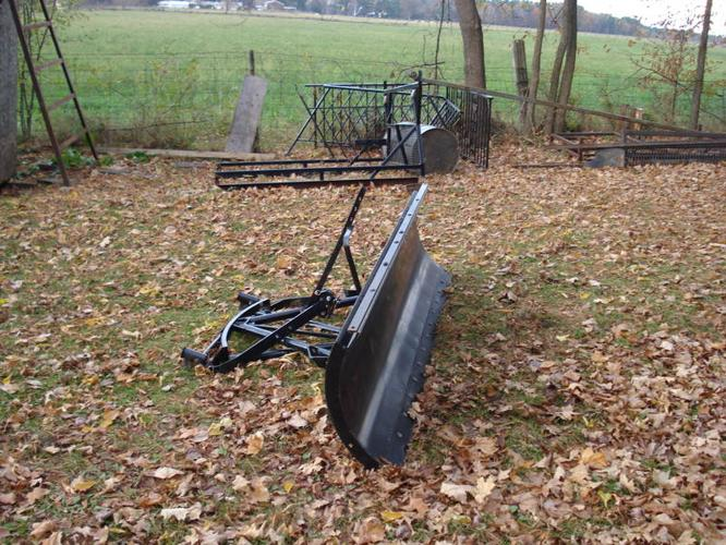Ford 4000 Plow : Snow plow blade ford ranger