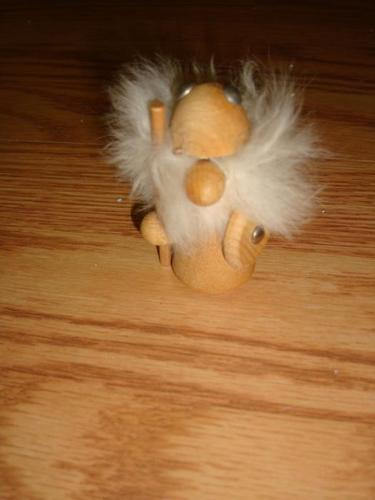 Solid Wood Fur Toy For Sale - Excellent Condition!