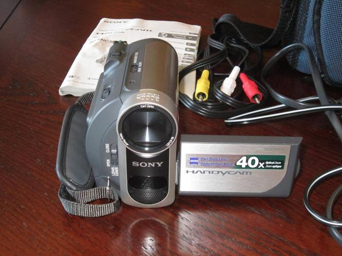 Sony - DCR-HC38 MiniDV Handycam® (camcorder)