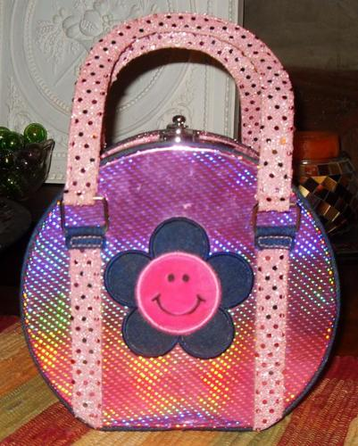 sparkling girls purse / jewelry box