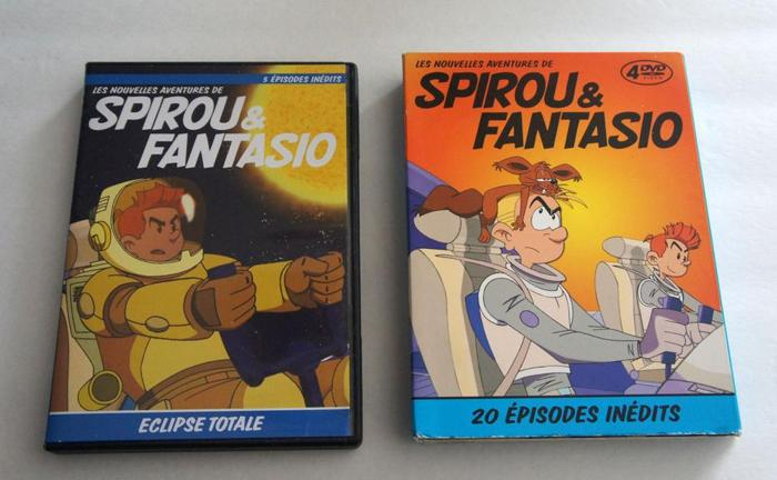 Spirou & Fantasio DVD English & French Versions