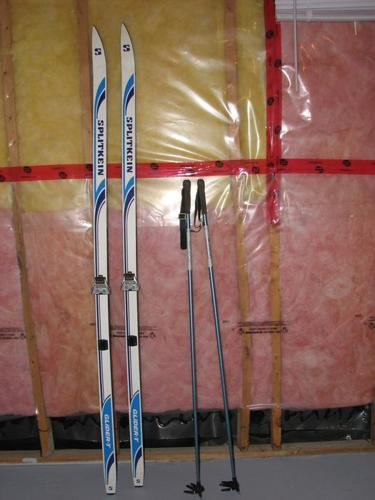Splitkeen Cross Country Wax Skiis