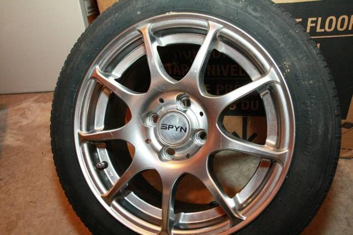 SPYN Rims and Tires
