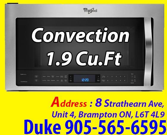 Stainless Steel Over-the-Range Microwave 1.9 Cu.Ft