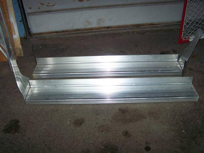 Stainless Steel Running Boards