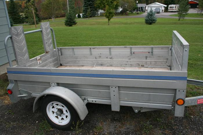 Utility Trailers For Sale Ontario >> Stirling 4 X 7 3 Galvanized Utility Trailer For Sale In