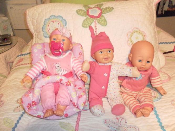 Sweet Adorable Little Baby Dolls