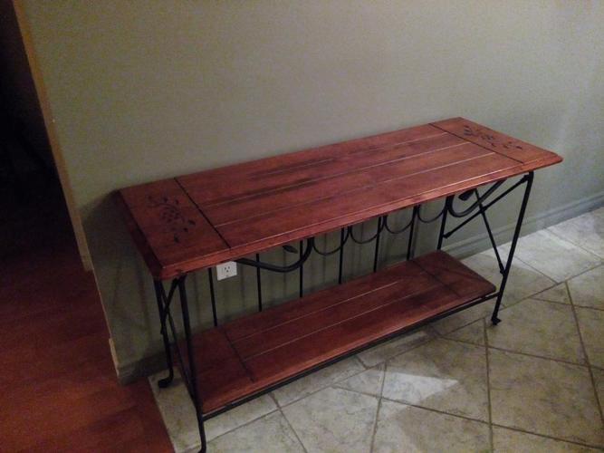 Table/wine rack