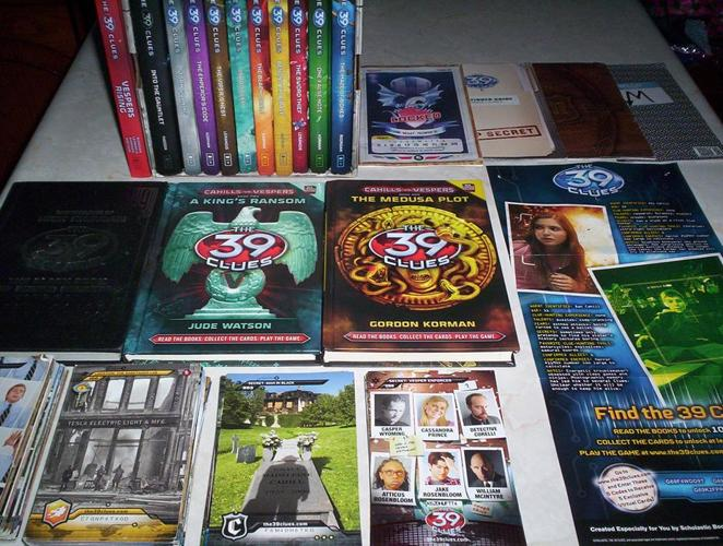 The 39 Clues Book Set with Cards and Backpack