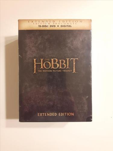 The Hobbit: The Motion Picture Trilogy - Extended Edition on DVD