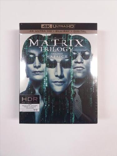 The Matrix Trilogy (4K Ultra HD + Blu-ray + Digital)