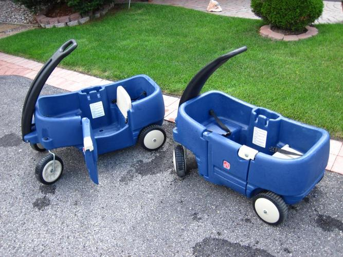 The Step2 Wagon for Two Plus (1 wagon available)
