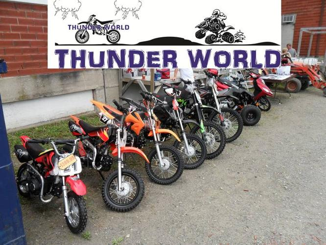 THUNDER WORLD- New Year, All New 2012 Models - See our Showroom!
