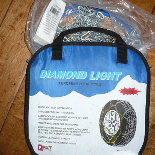 Tire chains - BRAND NEW & NEVER USED!