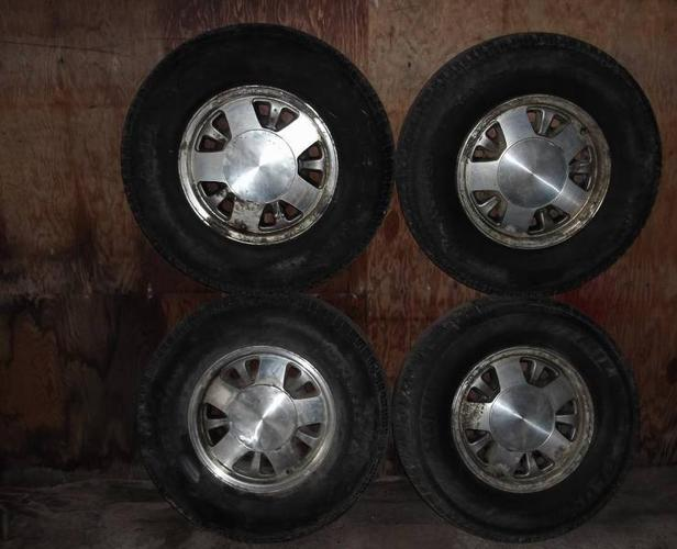 Tires With Rims - 5 Bolt GM Pattern - $$$$ Save Hundreds $$$$
