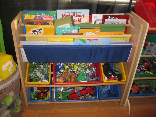 Toy Organizer / Book Sling