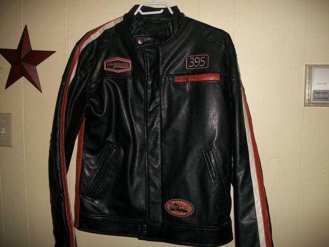 Two Leather Jackets