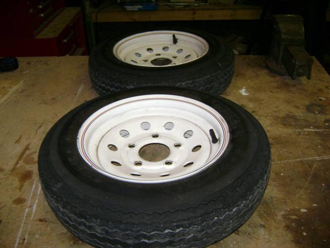 Used boat trailer tires for sale.