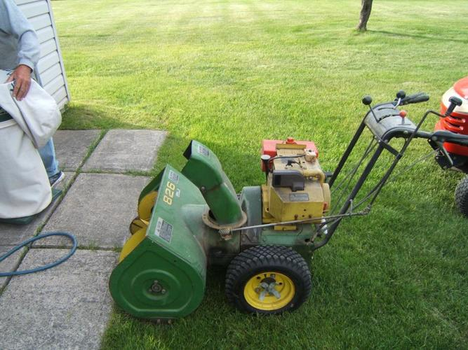 Used John Deere Snowblower