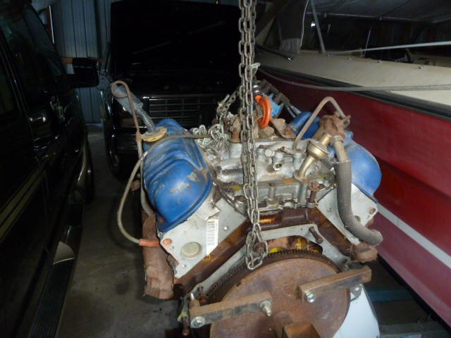 V6 Ford Test Motor From Ford