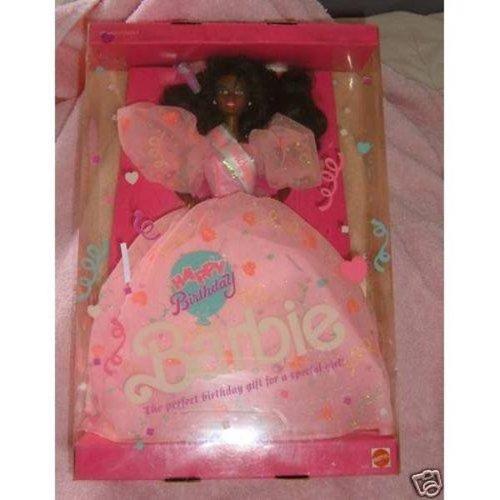 Vintage 1990 AFRO AMERICAN HAPPY BIRTHDAY Barbie Doll