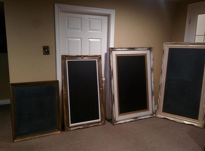Vintage Antique Chalk Boards or Menu Boards. I have four!