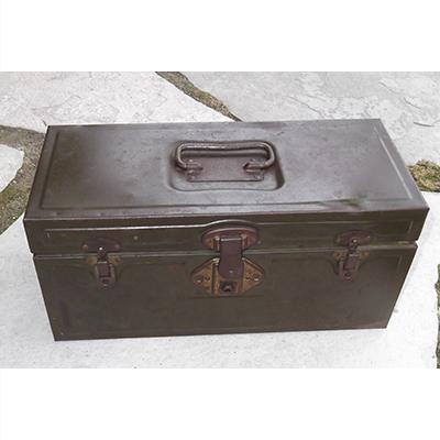 Vintage Metal Utilco Fish Tackle/Tool Box