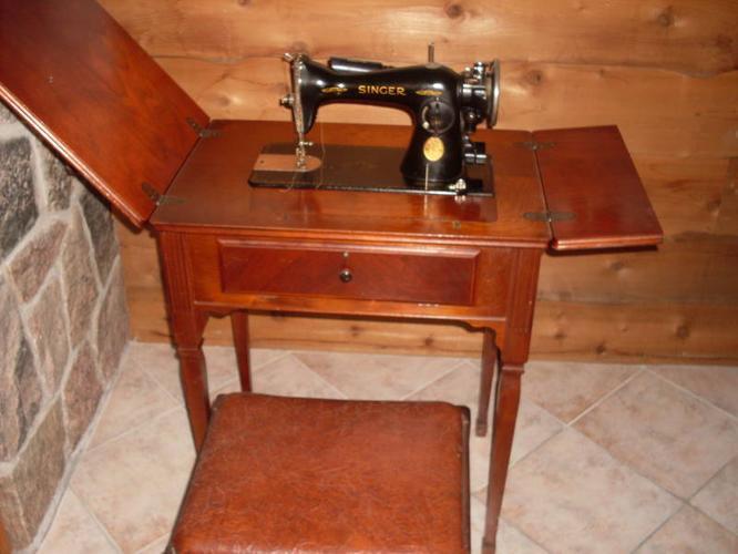 singer sewing machine 15 91