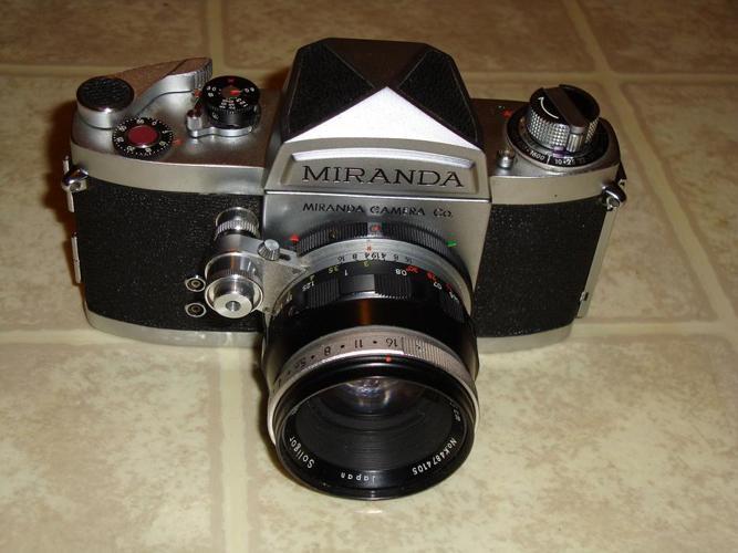 VINTAGE SLR Miranda DR 35mm manual Film Camera