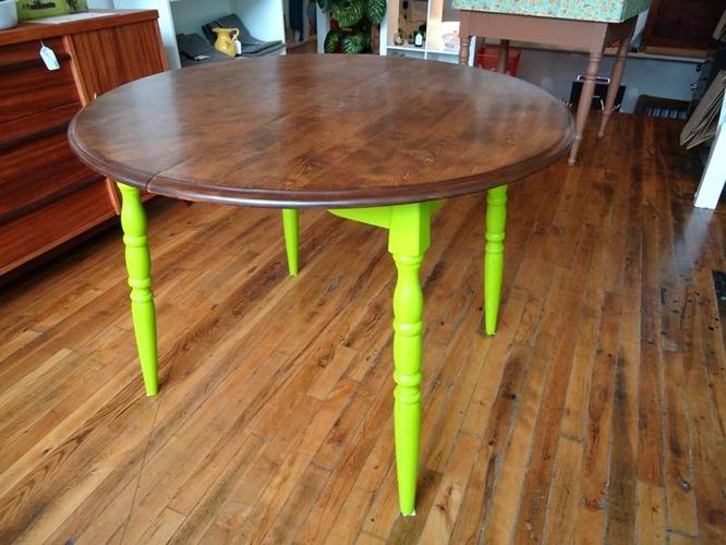 vintage upcycled kitchen table for sale in hamilton ontario ads in