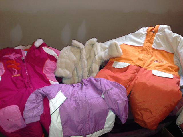 Vêtements pour bébé fille - Clothes for little girl