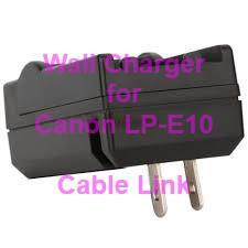 Wall Travel Charger for Canon LP-E10 Battery