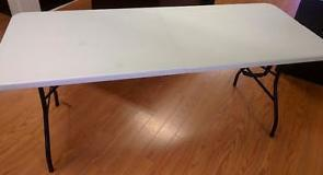 WANTED TO PURCHASE A 6FT. FOLDING TABLE