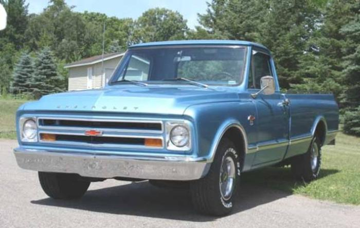 Wanted: Wanted- 67-68 chev truck grille and hood and related parts.