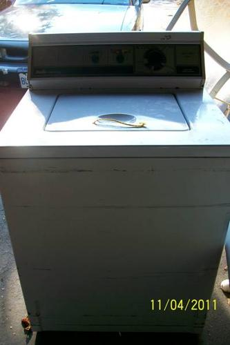 Washer and dryer - electric