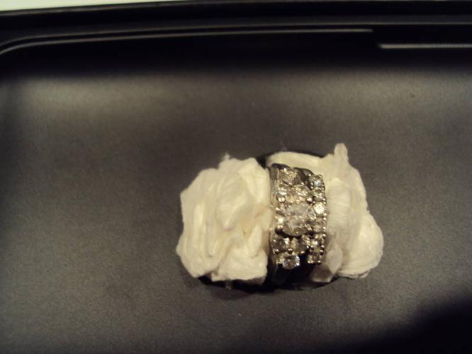wedding ring/engagement band